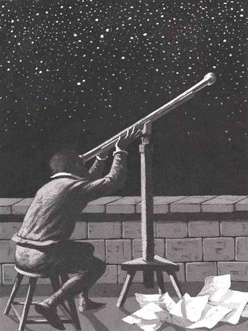 Galileo fabrica un telescopio con una potencia de amplificación de veinte aumentos.