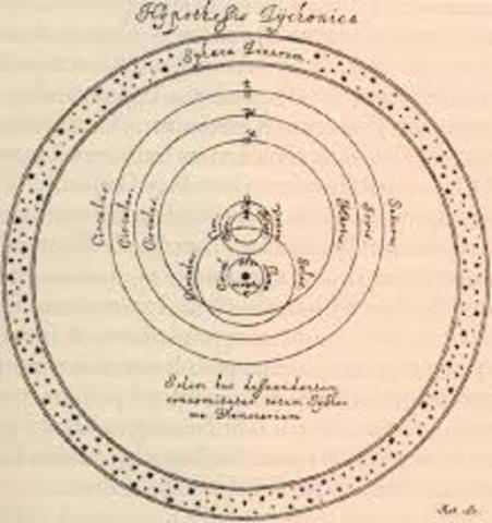 Galileo entrega el manuscrito a Riccardi en Roma de su libro El aqui!atador.