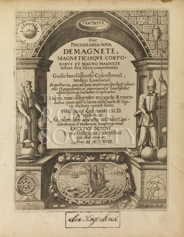 William Gilbert,De Magnete.