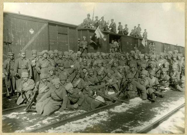 Восстание чехословацкого корпуса