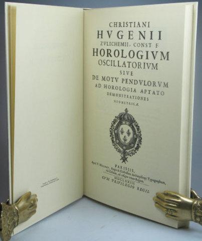 CHRISTIAAN HUYGENS (Horologium oscillatorum)