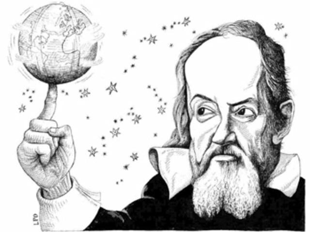 Galileo trabajó como profesor de matemáticas y filosofía natural
