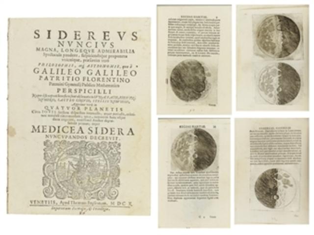 GALILEO GALILEI (El mensajero de las estrellas)