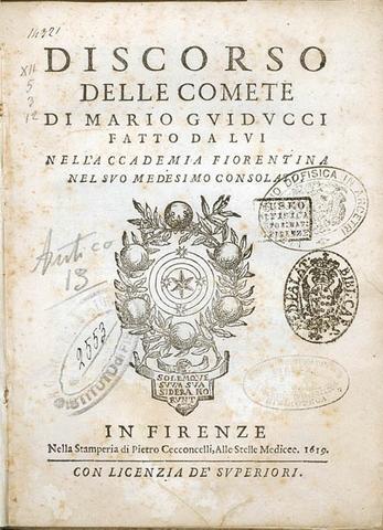 GALILEO GALILEI (Discurso sobre los cuerpos en el agua)