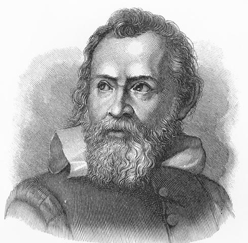 Galileo contra Aristoteles.