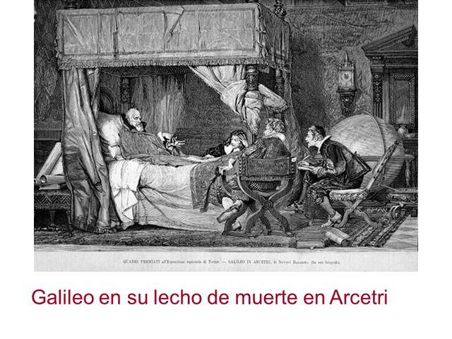 Galileo Galilei,muerte.