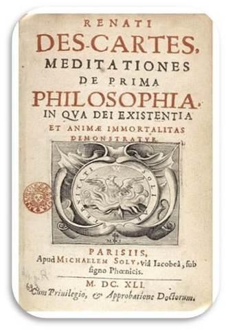 """Descartes publica """"Meditaciones metafísicas"""""""