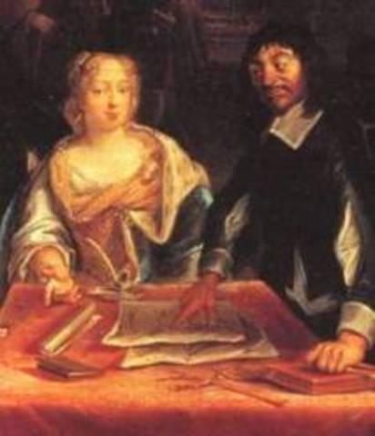 Descartes de traslada a Estocolmo