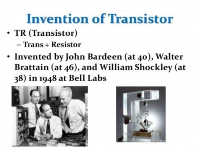 Transistor Invention