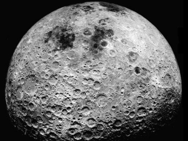 Galileo Galilei: superficie de la Luna