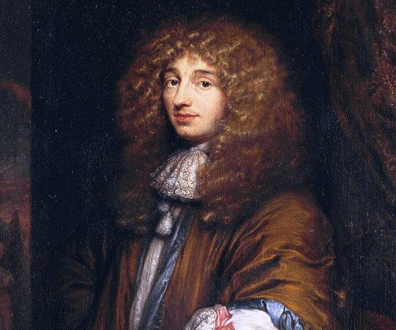 Nacimiento de Christiaan Huygens en la Haya, Bretana.