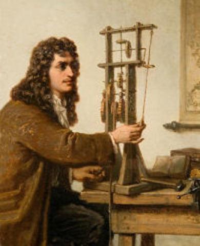 Año en que Huygens patenta su invento, el reloj de pendulo.