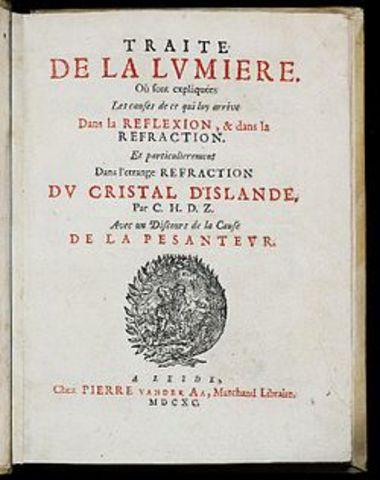 Año en que se publica el trabajo hecho por Romer y Huygens titulado Traite de la Lumiere.