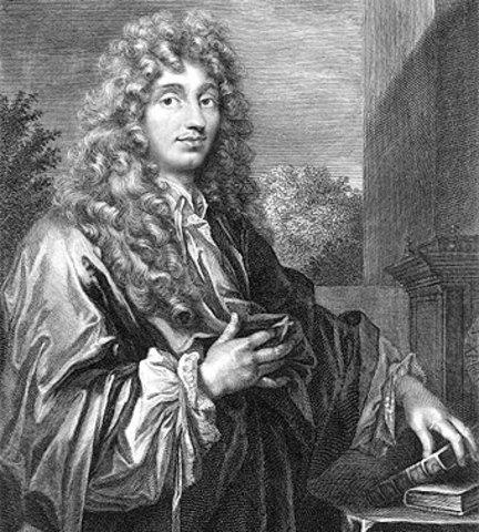 Fallecimiento de Huygens en la Haya, Bretana.