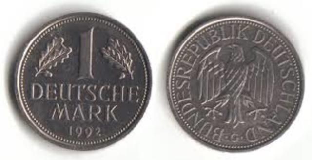 Bytter Tysk Valuta