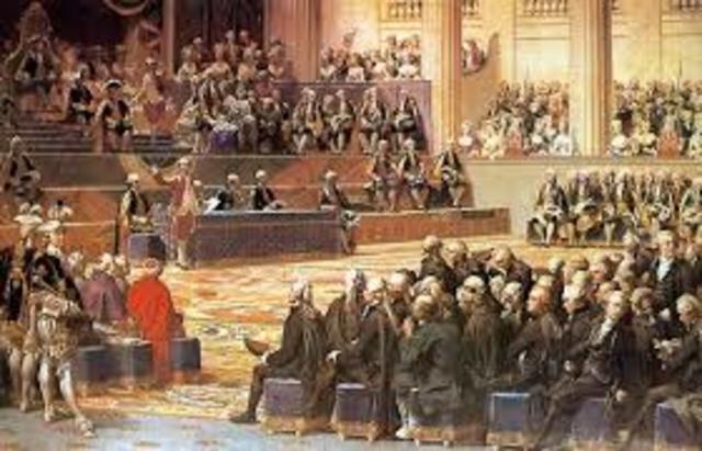 reunión de los estados generales