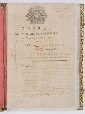 constitución francesa