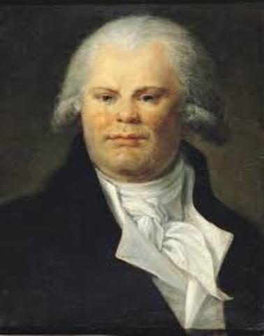 Danton elegido miembro de la comvencion nacional
