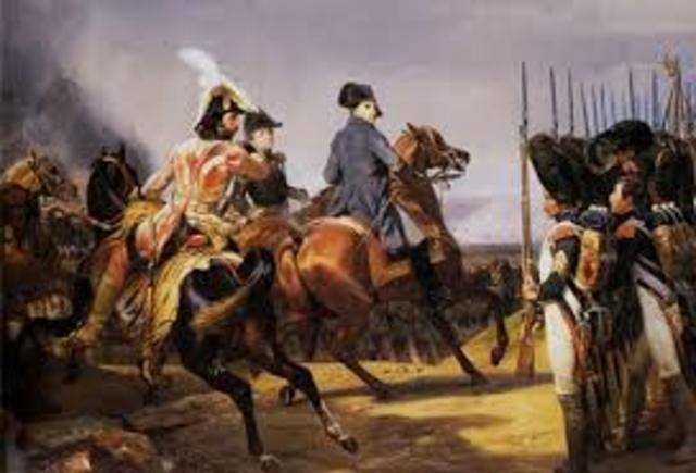 Derrota de las tropas prusianas en Valmy