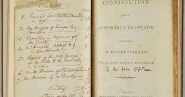 Constitución del 1795