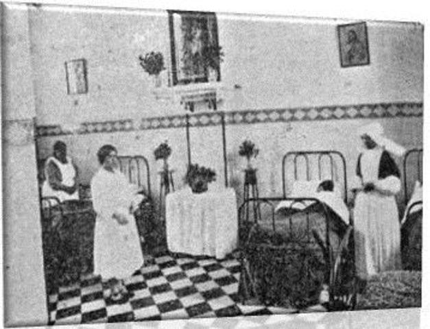 Primeros trabajos de enfermeria