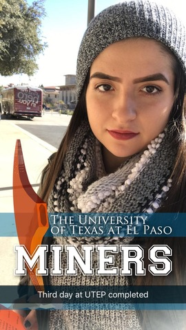 First day at UTEP