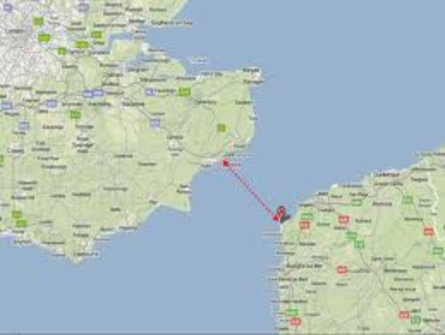 Comunicaciones Inalámbricas a través del Canal de la Mancha