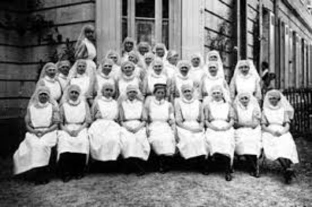La enfermeria se da a conocer como profesion