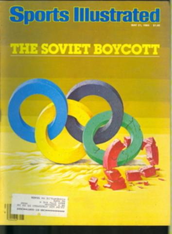 Soviets announce boycott of the 1984 Olympics