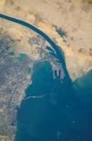 The Suez Canal is Built