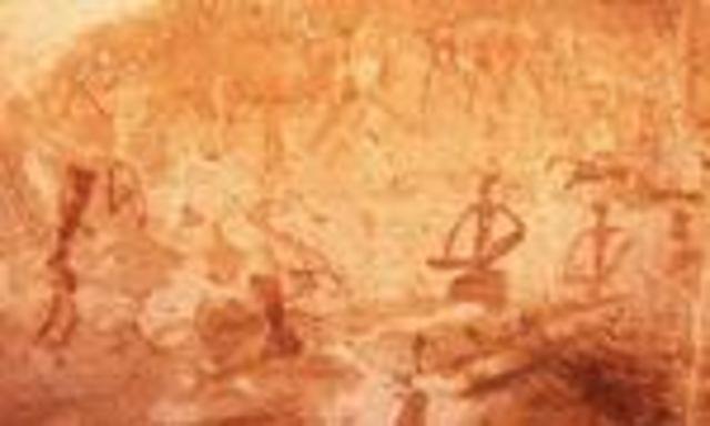 ARTE RUPESTRE- Tercera fase o garamántica