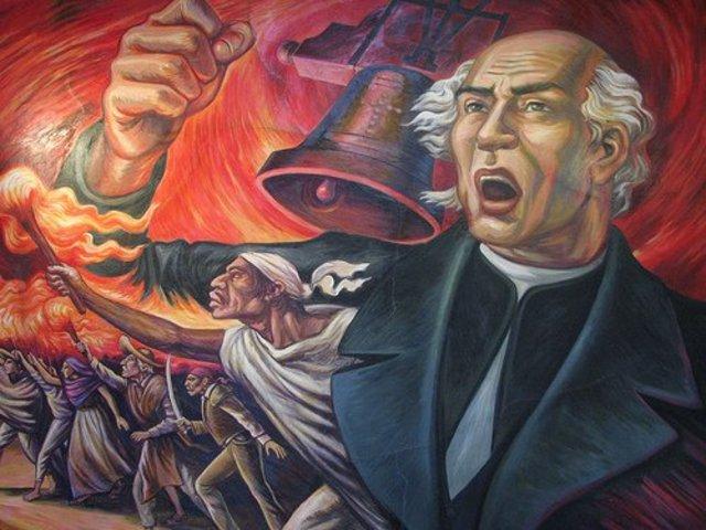 Miguel Hidalgo llama a levantarse en armas