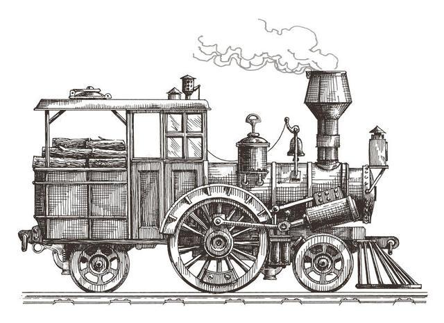 Locomotora a Vapor (G. Stephenson)