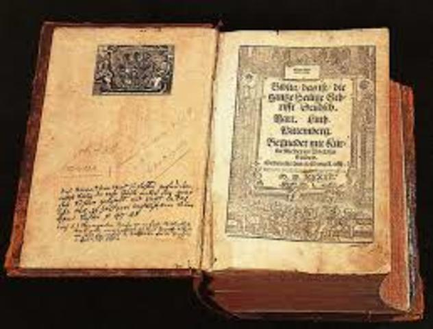 the bible(Martin Luther)