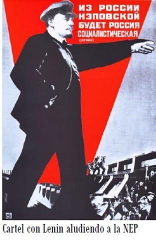 Nueva Política Económica Soviética.