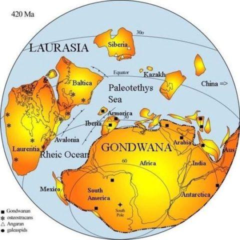 La formación de Gondwana y la capa de ozono
