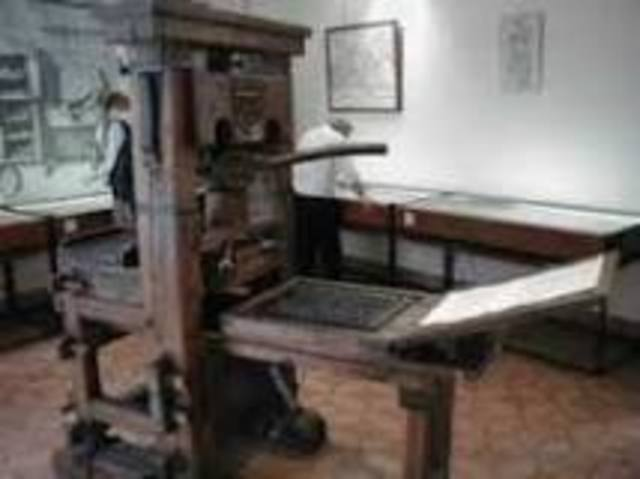 Printing press(Inventions)