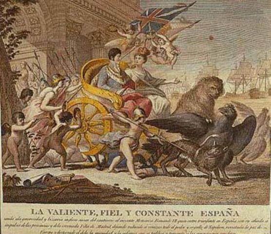 El sexenio Absolutista   (1814-1820)