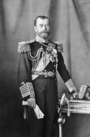 Zar Nicholas II