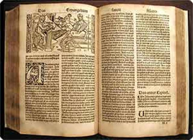 Luther's German bible is published