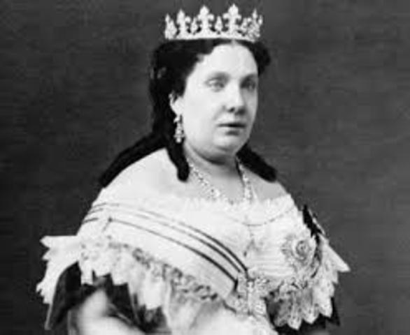 Isabel II                (10 oct 1830  -  9 abril 1904)