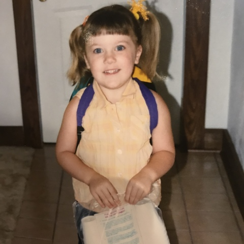 1st Day of Preschool- Color My World