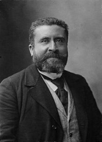 Jean Jaurès (3 Sept 1859 - 31 July 1914)