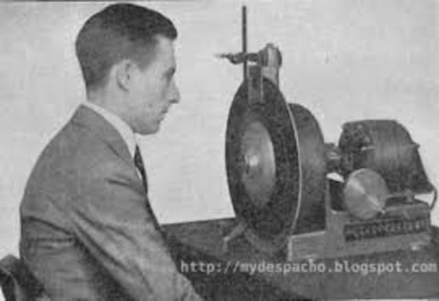 Invención del disco de imágenes