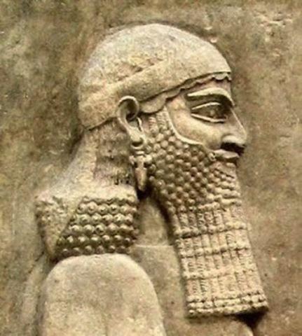 Sargón II, rey de Asiria