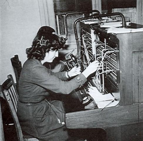 Instalación de la primera central telefónica publica en USA