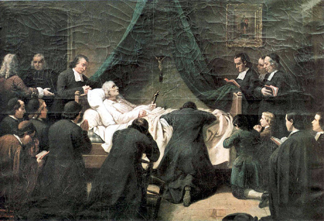 Fallecimiento de San Juan Eudes