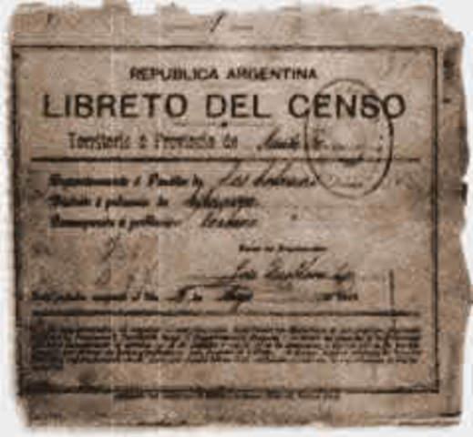 El primer censo nacional de Colombia