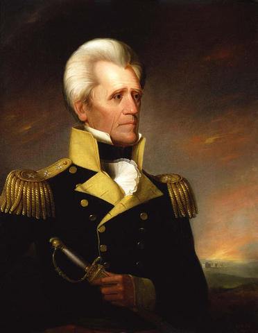 Jackson Enlists in Revolutionary Army