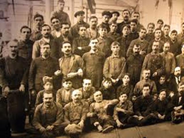 Origen del Movimiento Obrero